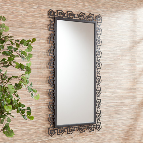 Southern Enterprises Aledo Mirror, Black