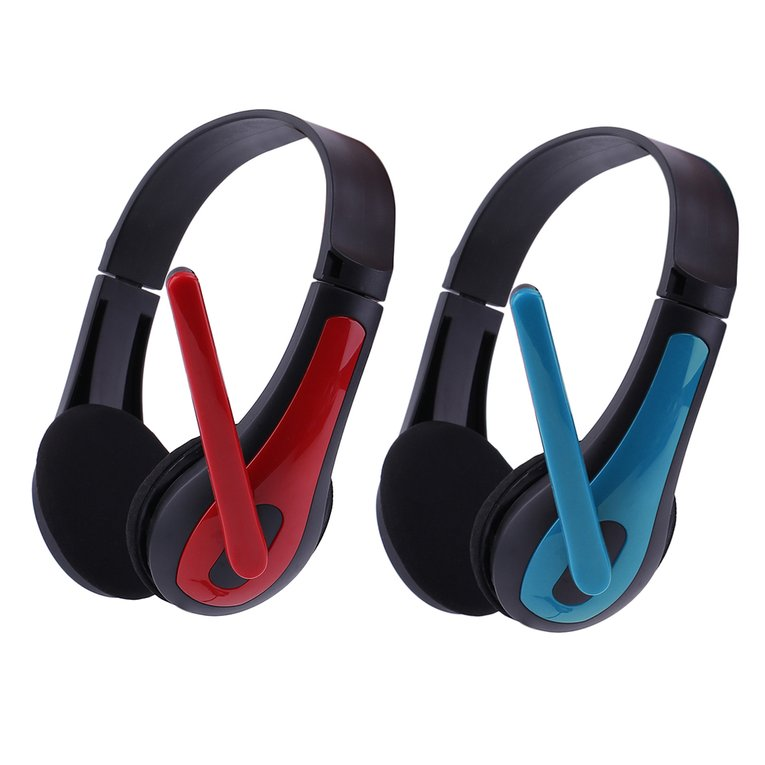 JM-472 Universal Computer Laptop PC Ergonomic Design 3.5MM Wired Game Headset