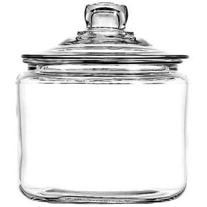 Anchor Hocking Glass Heritage Hill Jar, 3 Quarts