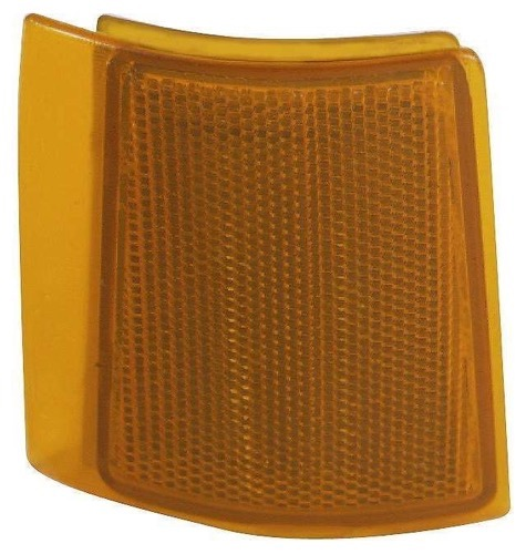 Compatible 1994 - 1999 GMC K1500 Side Marker Light Assembly / Lens Cover - Front Right (Passenger) Side 5977464 GM2551148 Replacement For GMC K1500