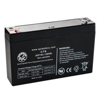 Yuntong YT-670 6V 7Ah Sealed Lead Acid Battery - This is an AJC Brand Replacement