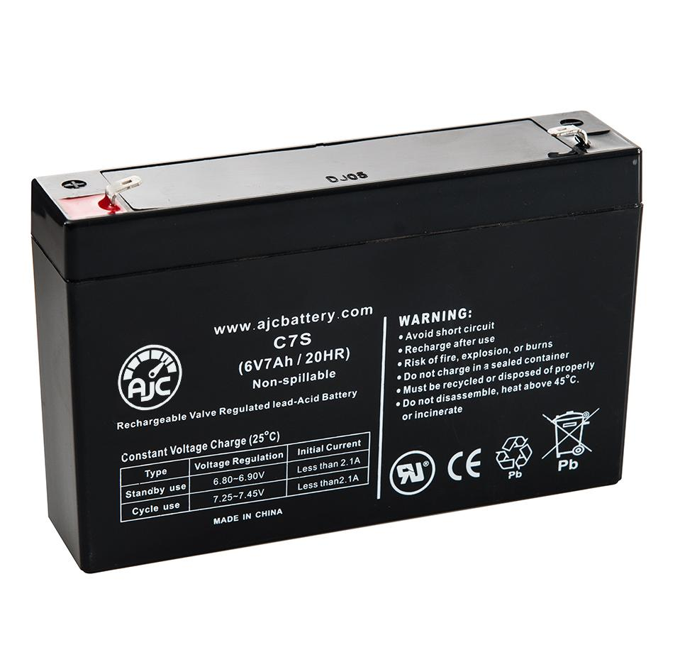 B/&B BP8-6 6V 7Ah UPS Battery This is an AJC Brand Replacement
