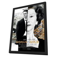 The Woman in Gold (2015) 11x17 Framed Movie Poster