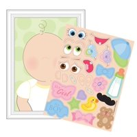 Club Pack of 48 This Baby Looks Like Baby Shower Party Games with Stickers