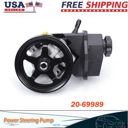 Power Steering Pump For 2006-2011 Chevrolet Impala Monte Carlo 3.5L 3.9L V6 OHV Power Steering Pump Assembly