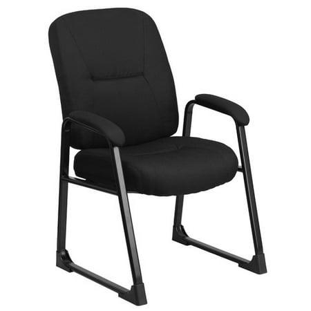 Flash Furniture Hercules Series Big And Tall Fabric Executive Side Chair  Black
