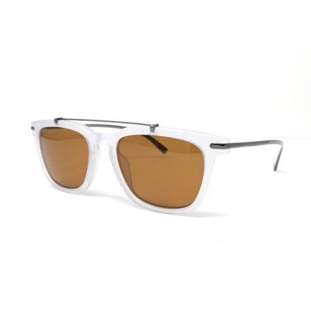 Salvatore Ferragamo Sunglasses SF820S 112 MATT CRYSTAL Rectangular 54x19x145