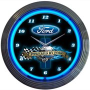Neonetics 15'' Powered By Ford Wall Clock