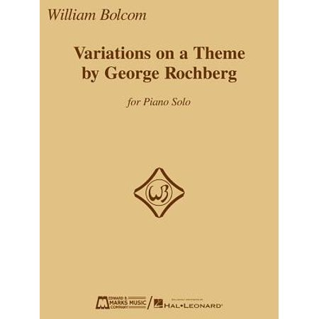 Variations on a Theme by George Rochberg : For Piano Solo