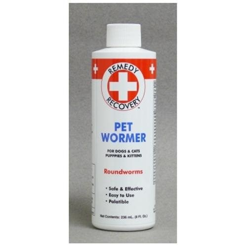Cardinal Pet Care Remedy + Recovery Pet Wormer for Dogs & Cats, 8 Oz