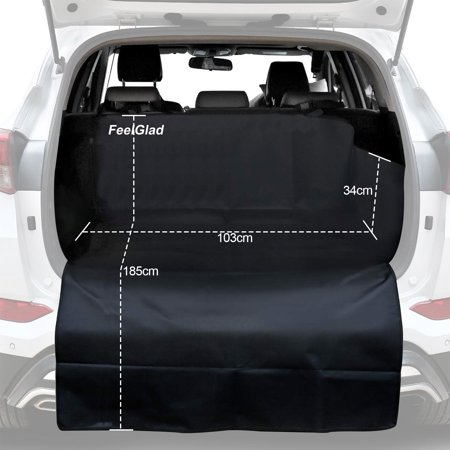 How To Make Car Seat Covers >> Reactionnx Suv Cargo Liner For Dogs Dog Car Seat Covers Pet Seat Cover For Vans Suvs Black Waterproof Nonslip Backing And Washable