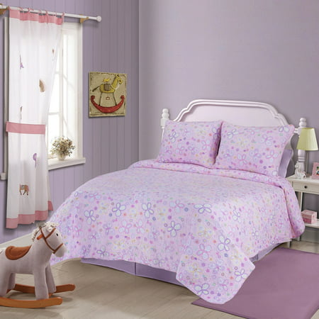 Superior Amy 100% Soft Cotton Quilt Set