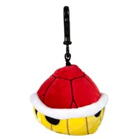 Nintendo Mario Kart Club Mocchi-Mocchi- Collectible Clip-On - Red Shell Stuffed Toy