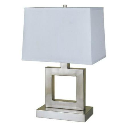 Nickel Square Table Lamp - ORE International 22