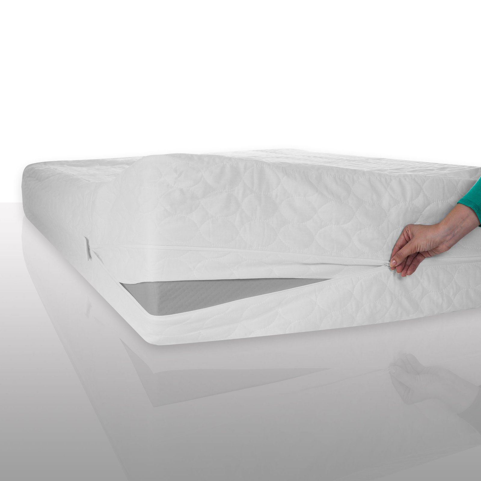 Bed Bug and Dust Mite Cotton Mattress Protector by Remedy by Remedy