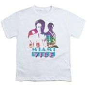 Miami Vice Crockett And Tubbs Big Boys Shirt