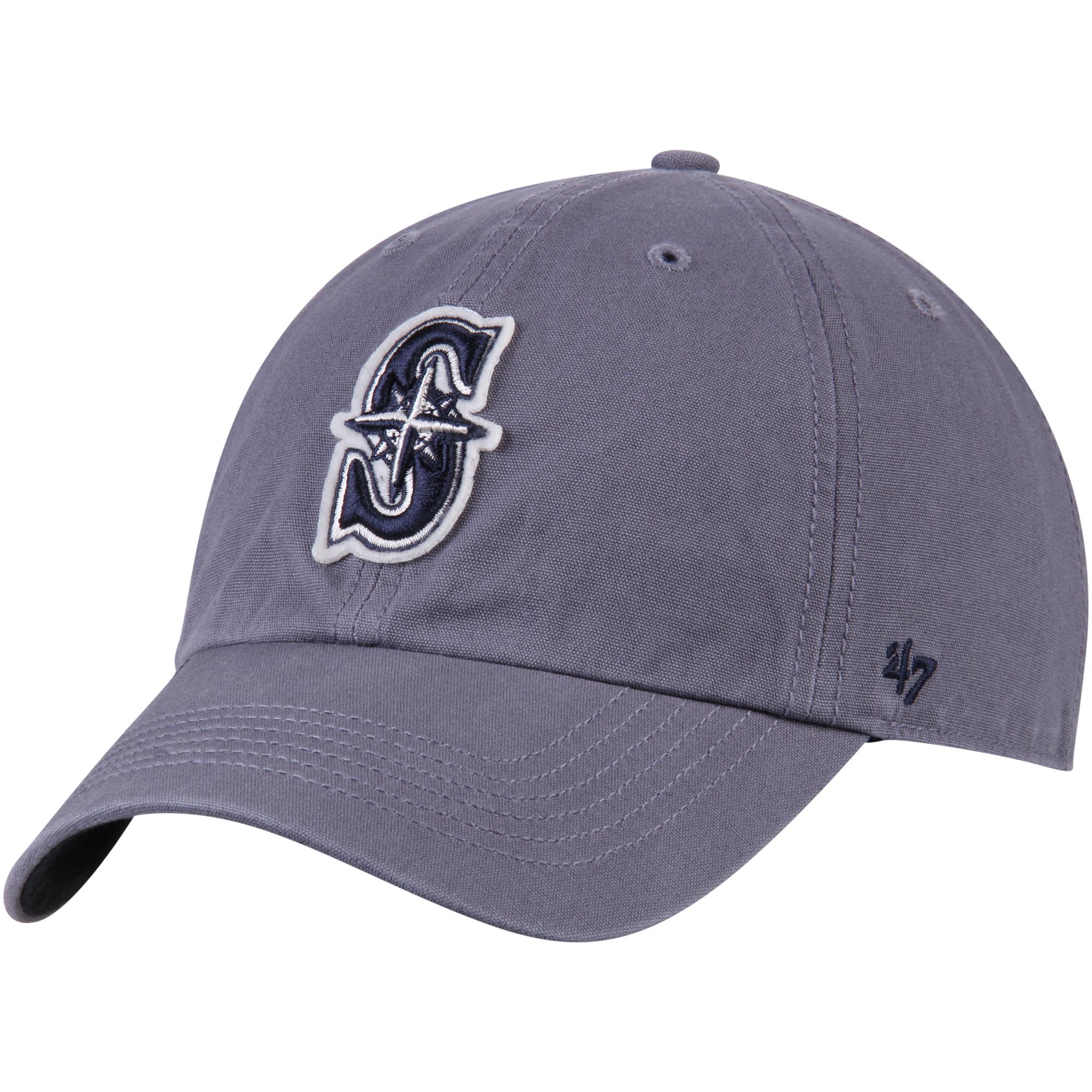 Seattle Mariners '47 Borderland Clean Up Adjustable Hat - Navy - OSFA