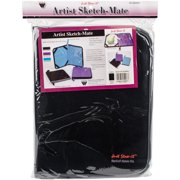 Just Stow It Sketch Mate Portfolio, Black