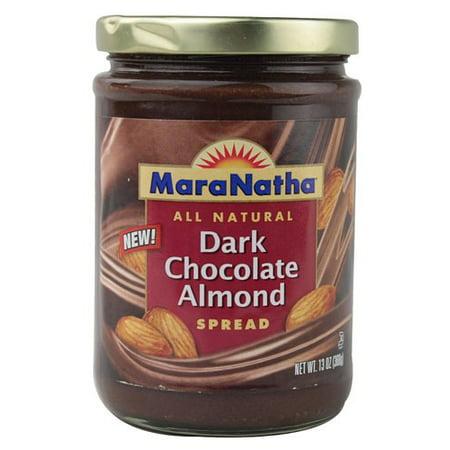 MaraNatha Dark Chocolate Almond Butter, 13 oz.