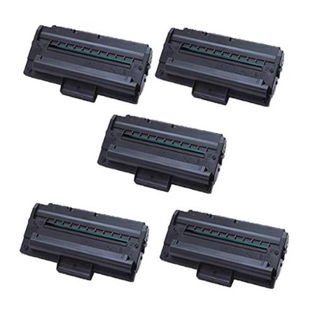 Xerox PE16 (113R00667) Black Compatible Laser Toner Cartridge PE16 (Pack of 5) by
