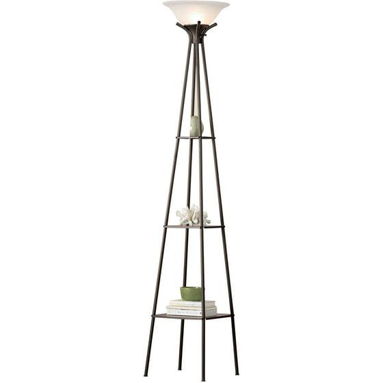 Mainstays Etagere Floor Lamp Ca