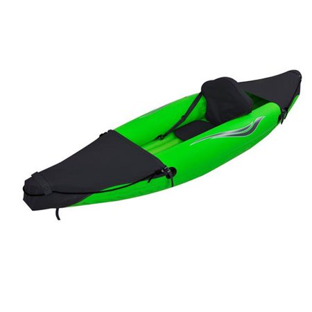 1 Person Inflatable Kayak (Outdoor Tuff OTF-2751PK Stinger 3 Inflatable One Person Sport Kayak )