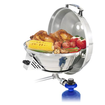 Combination Gas Grill - Magma Marine Kettle 3 Combination Stove & Gas Grill