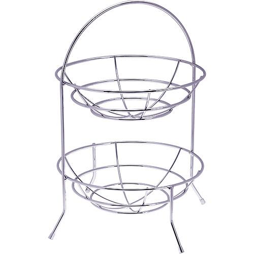 Progressive International 2-Tier Wire Basket