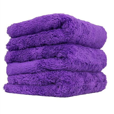 Chemical Guys MIC35803 Edgeless Microfiber Towel (Purple, 16 x 16 Happy Ending) (Chemical Guys Polish Kits)