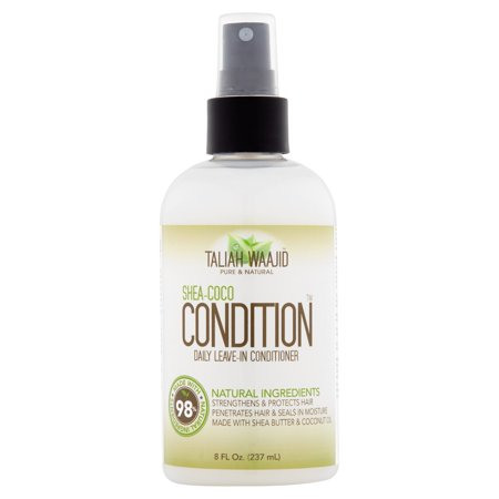 Taliah Waajid Shea-Coco Condition Daily Leave-In Conditioner, 8.0 fl oz
