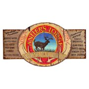 Antler Lodge Wall Art - 28W x 18H in.
