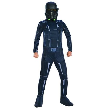 Boys Rogue One Death Trooper Costume](Star Wars Shock Trooper Costume)