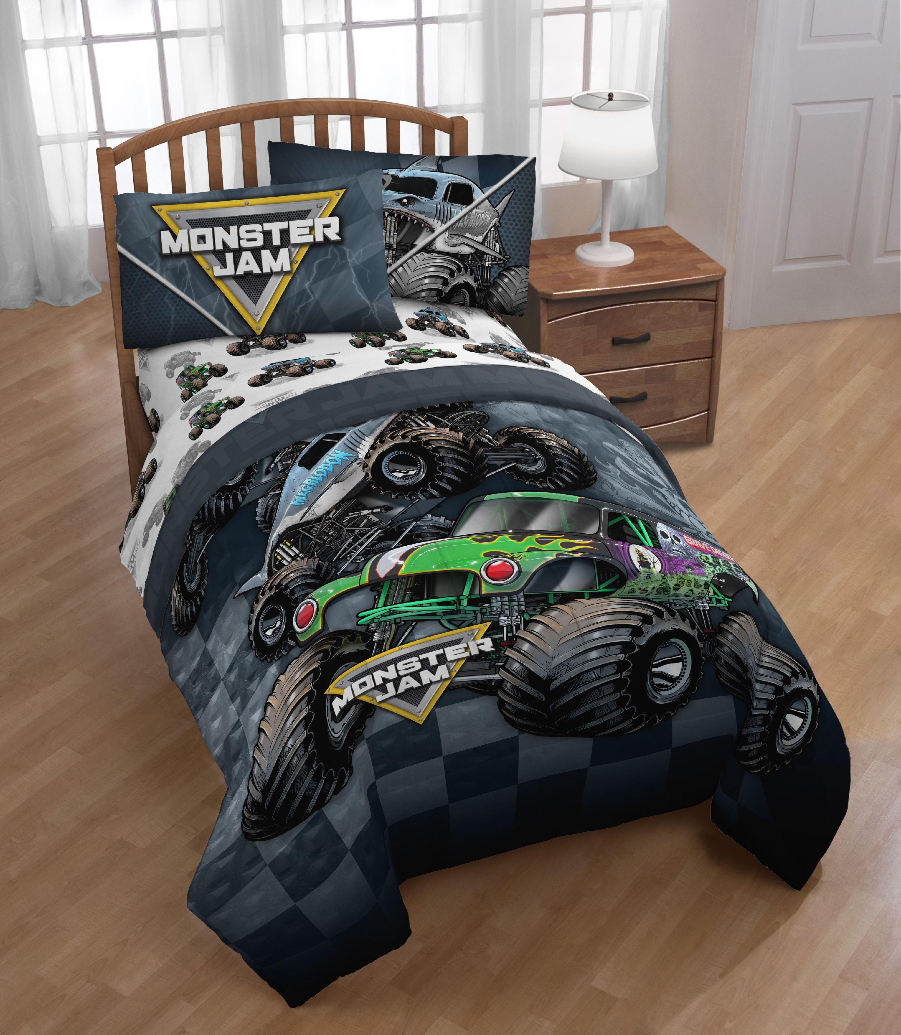 Grave Digger Monster Truck Bedding | Tyres2c