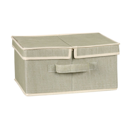 Household Essentials Medium Box With Dual Sided Lid