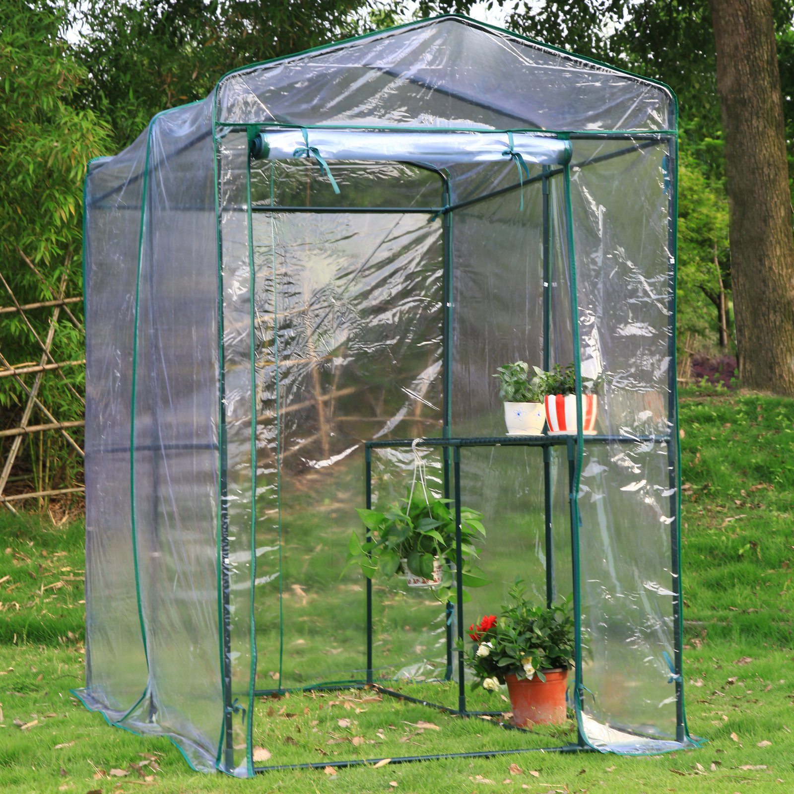 Arcadia Garden Products 1 Sided Walk In Greenhouse