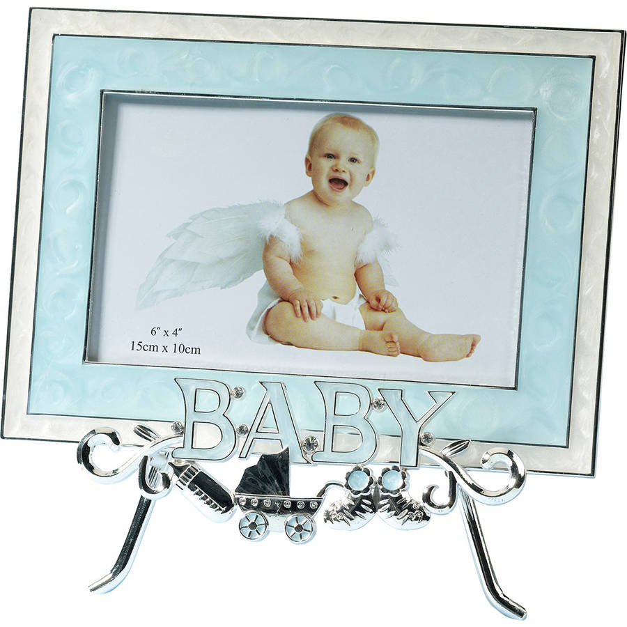 Lillian Rose Baby Stand & Frame, Blue