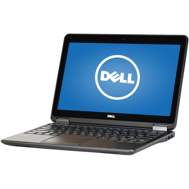 """Refurbished Dell Latitude E7240 12.5"""" Laptop, Touchscreen, Windows 10 Pro, Intel Core i7-4600U Processor, 8GB RAM, 256GB Solid State Drive"""