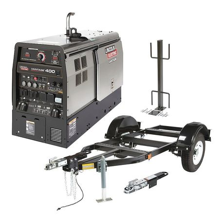 Lincoln Electric K2508-7 Multiprocess Welder,Vantage,400 ...