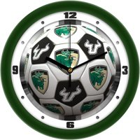 South Florida Bulls Soccer Wall Clock