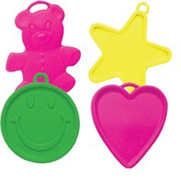 Mayflower 5682 Neon Plastic Balloon Weights 8 Grams Pack