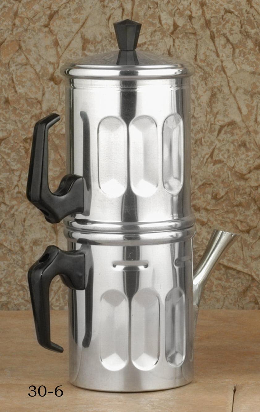"""ILSA"" Neopolitan Espresso maker 6-cup by European Gift & Houseware"