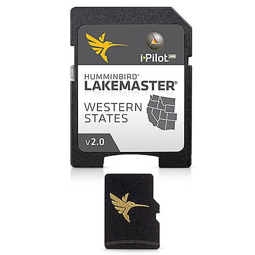 Humminbird 600011-3 LakeMaster Western States - MicroSD Humminbird LakeMaster Western States