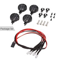 matoen Bright LED Lamp Roof Light for 1/10 1/8 Off-road Car Traxxas HSP Redcat Axial SC