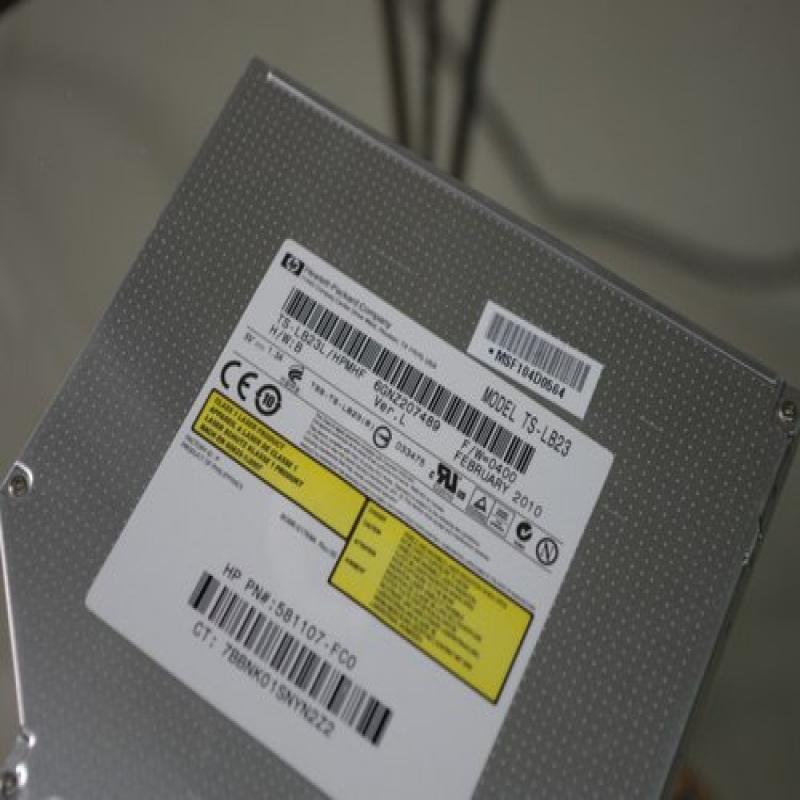 Toshiba HP TS-LB23L Blu-ray BD-ROM/8x DVD±RW Lightscribe...
