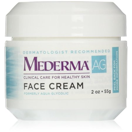 Moisturizing Face Cream – with hyaluronic acid for moisture and glycolic acid to gently remove rough, dry skin – dermatologist rWalmartmended brand - fragrance-free,.., By Mederma