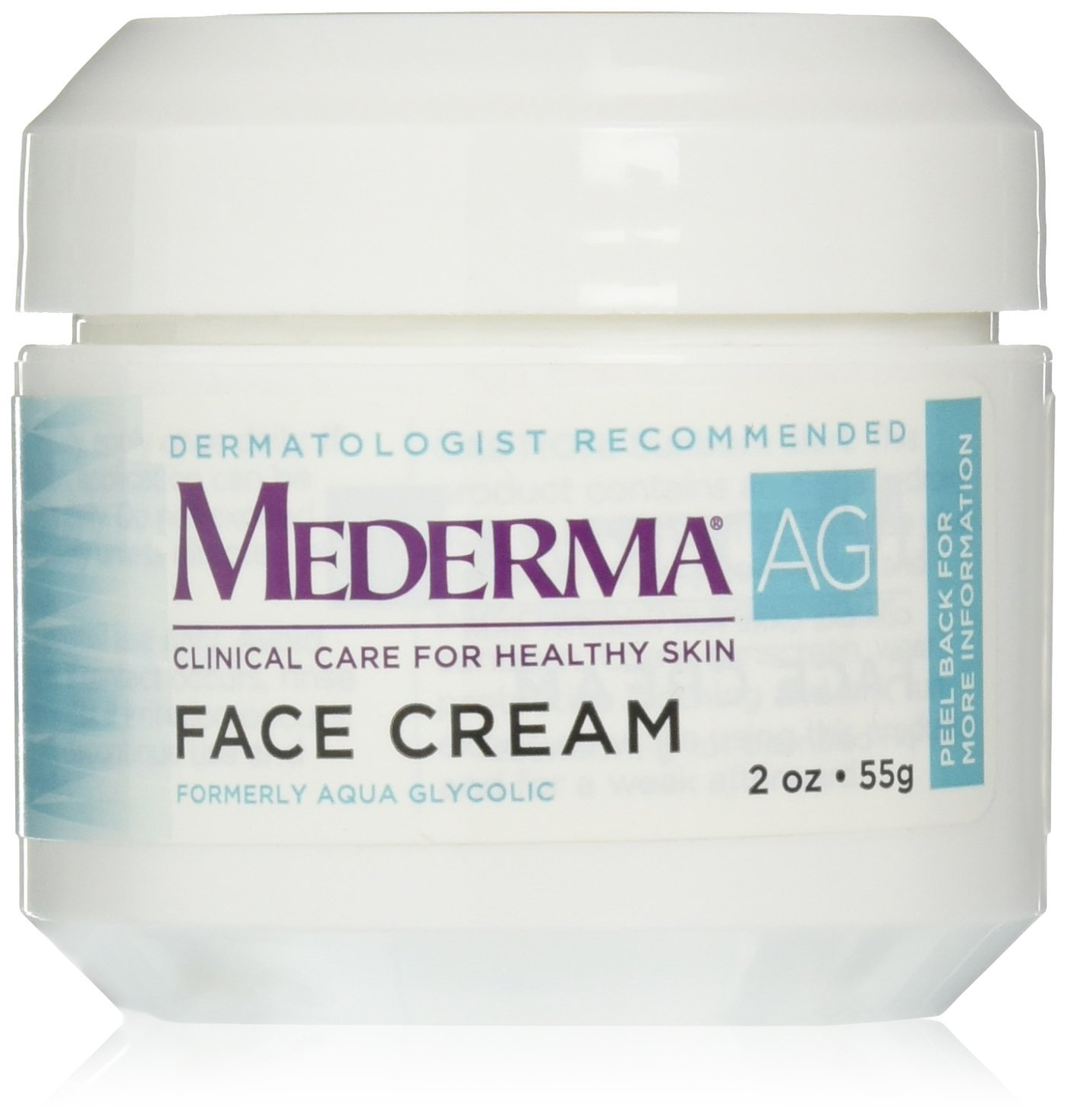 Moisturizing Face Cream – with hyaluronic acid for moisture and glycolic acid to gently remove rough, dry skin – dermatologist rWalmartmended brand - fragrance-free,.., By Mederma AG