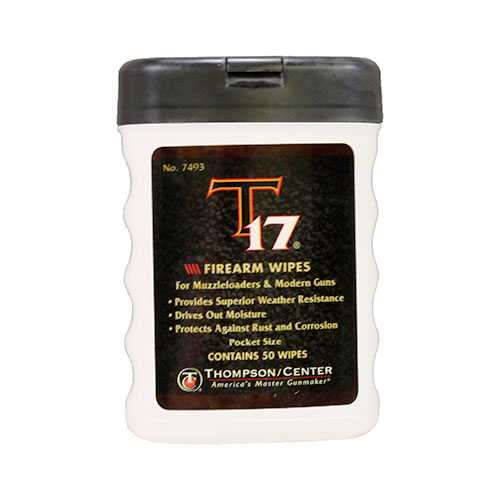T17 FIREARM WIPES, 50 COUNT