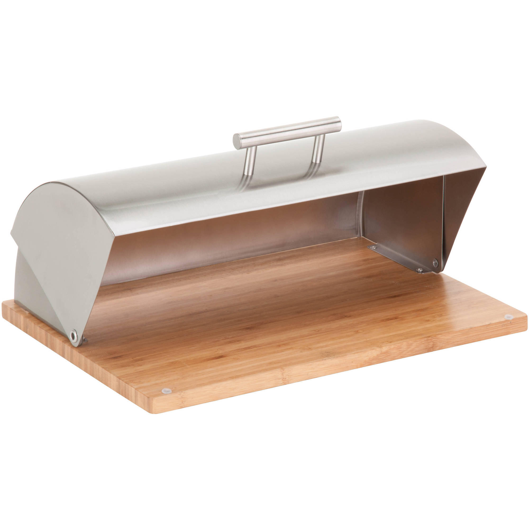 Tin bread box drawer insert - Better Homes And Gardens Stainless Steel Bread Box