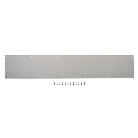 ProSource Kick Plate, Aluminum, Satin Nickel