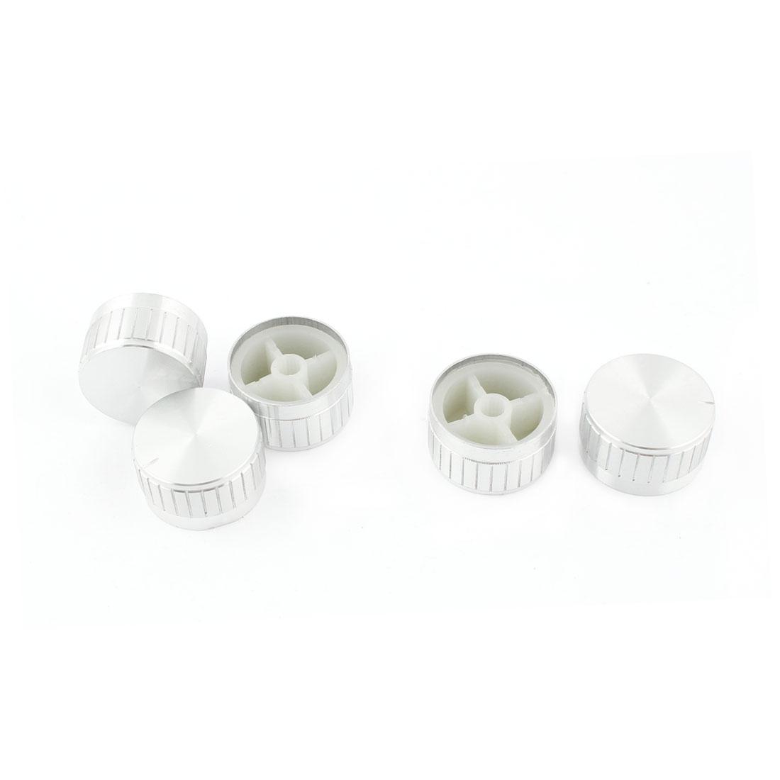 Unique Bargains 5 x Adjustable Turn 5.5mm Shaft Insert 30mm Potentiometer Rotary Control Knob - image 1 of 1